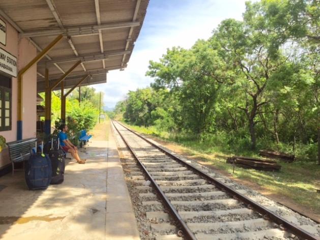 sri lanka train station